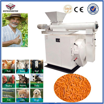 High Efficiency Anima Feed Pellet Mill Used On Farm Machinery