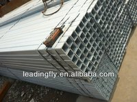 BS1387 hot dipped galvanized square and rectangular steel pipe/tube