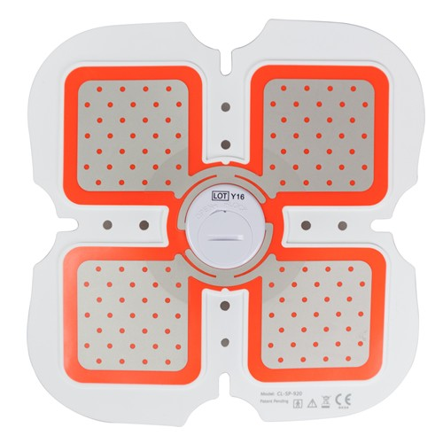 Body Building Toning EMS Equipment, Fat Burning Electric Massage Pad Electronic Muscle Stimulator