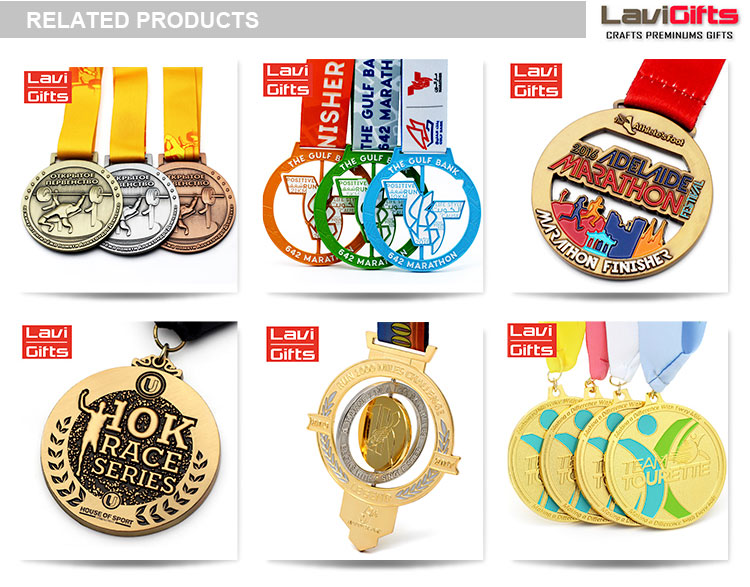 High quality medal brass for promotion