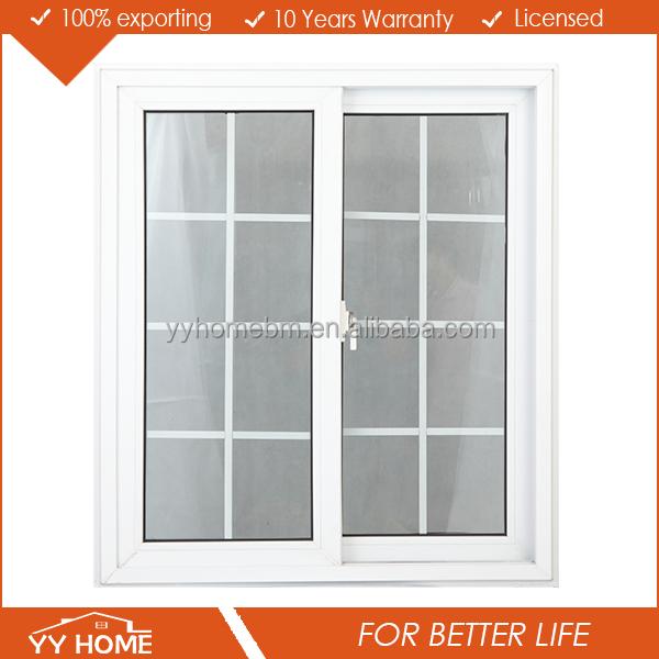 Yy home high quality aluminium frame window grills design for Window design 2016 philippines