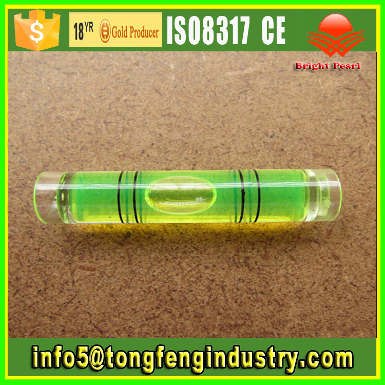 High Precision Measuring Tools Tubular Spirit Level Bubble