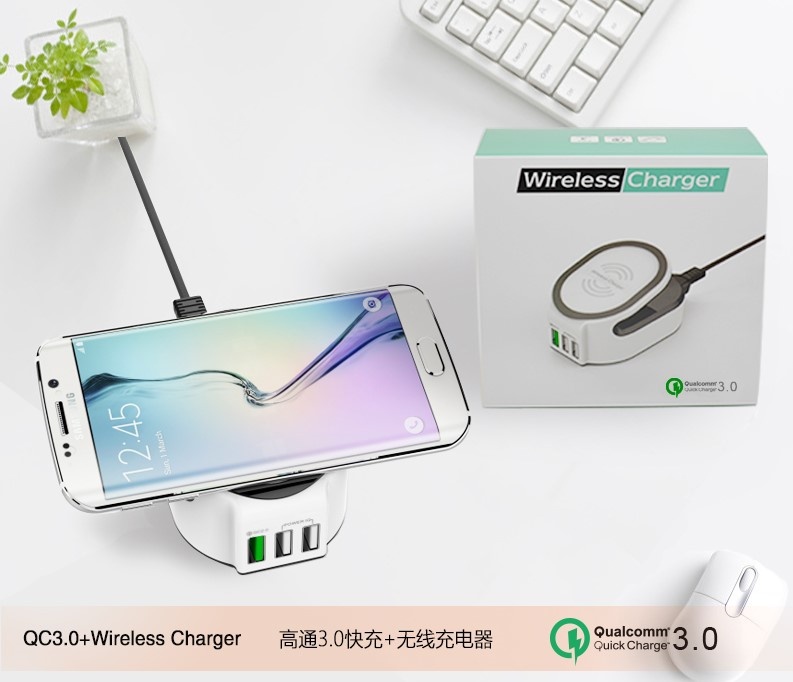 Favorable 3 in 1 Mutifunctional Charger QC 3.0 Quick Charger