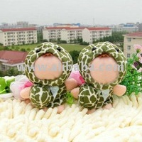 3D face plush doll(Skirt tortoise 8-10cm)