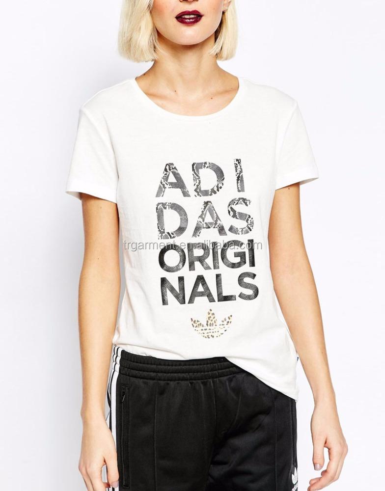 Lady tops fashion sports garment animal print t shirt men Custom printed women s t shirts