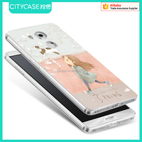 city&case silicone phone case for Huawei mate8