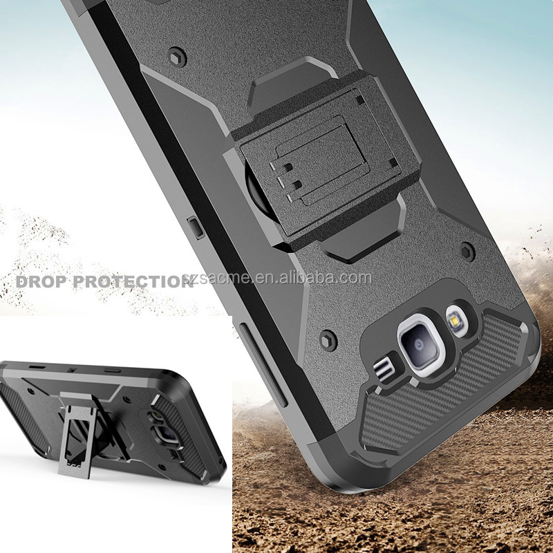 3 in 1 heavy duty belt clip hybrid holster armor for motorola moto g4 play hybrid kickstand case