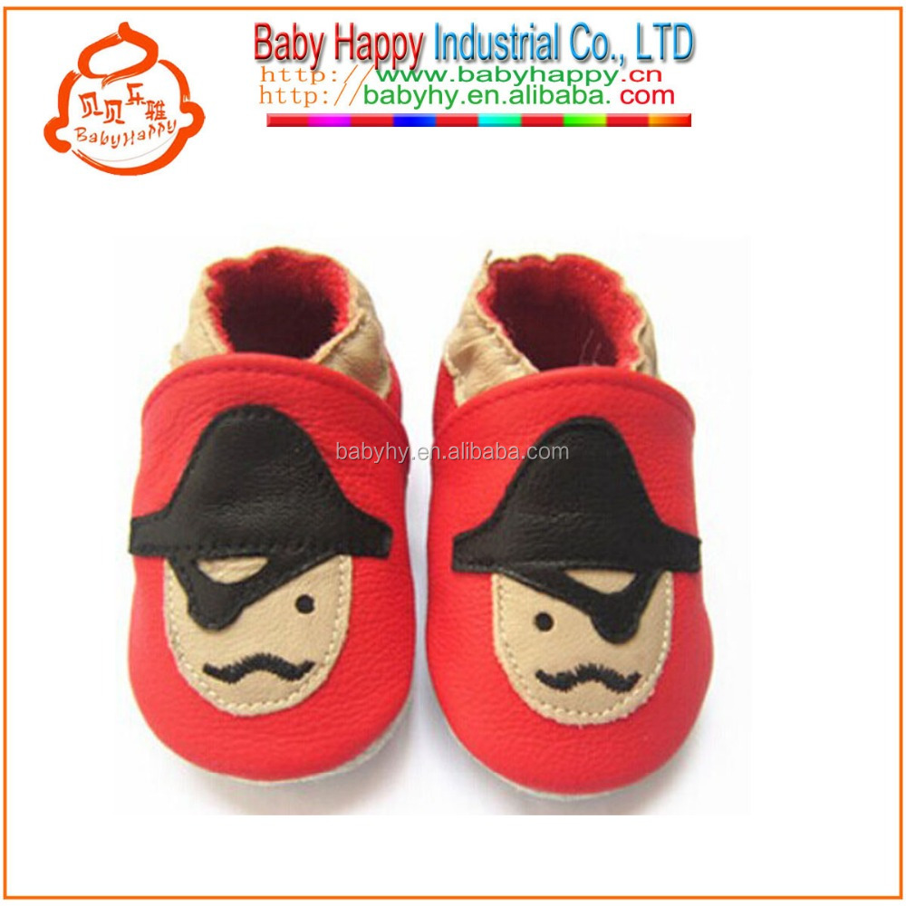 Boys Girls Shoes Cute Custom Pattern Soft Leather Baby Shoes