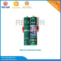 Anti-fungus silicon glass glue for 3D Acrylic Letters