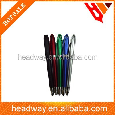 new promotion stylus touch screen plastic ball pen