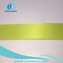 colour tube looped nylon webbing strap