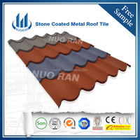High quality blue metal roof tile
