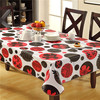 Flower Design Cheap Embossed Printed PVC Anti-slip Table Cloth