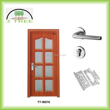 6 glass panel swing kitchen casement door