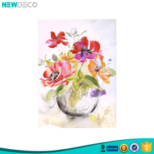 Home and house decoration art beautiful abstract flowers oil paintings
