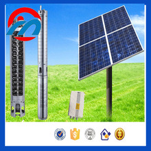 dc solar water submersible deep well water pump