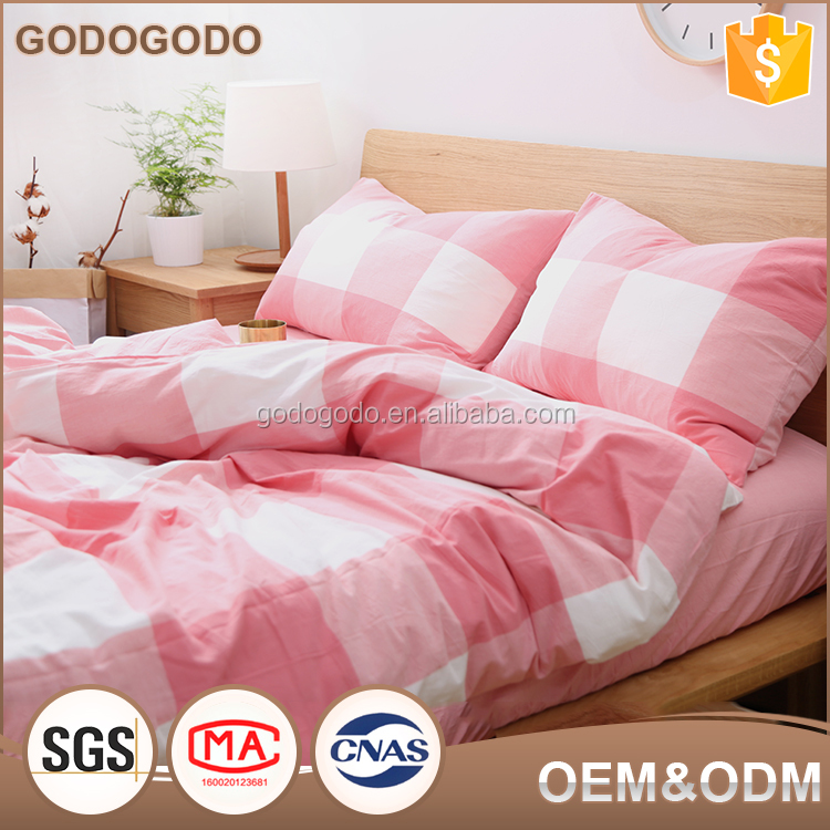 Drop Shipping Factory Customize Adult King Size Washed Cotton Luxury Bedding Set