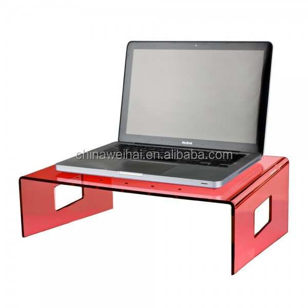 acrylic laptop stand
