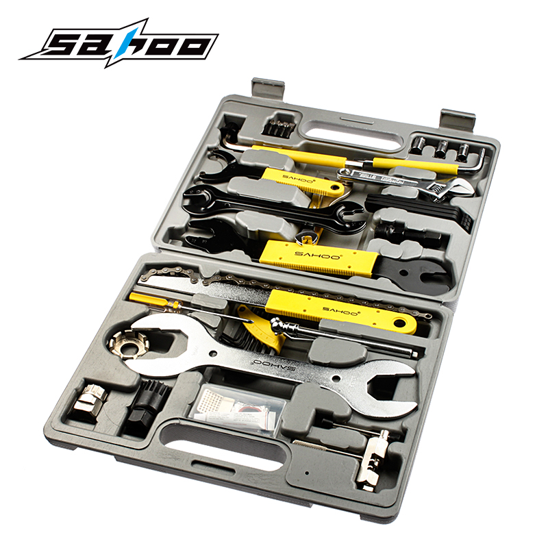 Sahoo 21275 Multifunctional and OEM Accepted Bicycle Bike Tool Set Kit Bike Tools