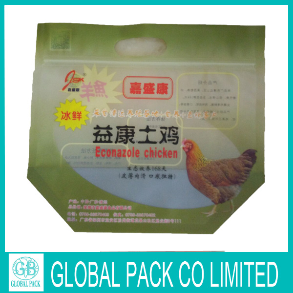 Hot selling chicken plastic bags for frozen chicken packaging