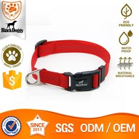 Eco-Friendly Nylon Protection Pet Dog Collar Glow In The Dark China Small Order Available