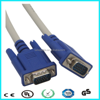 High Resolution 5M male 3+6 projector VGA cable