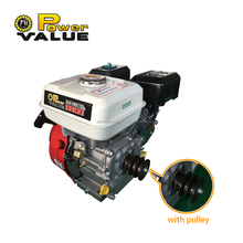 Genour Power ZH160 168F LPG GAS Gasoline Pertrol Generator Engine 5.5hp GX160 Electric Start With Tank Air Cooled