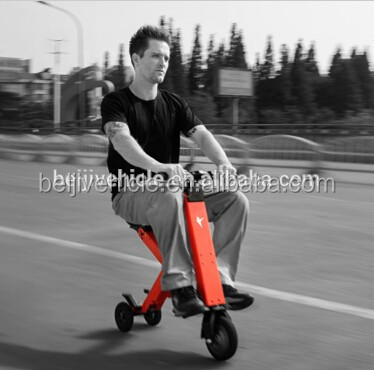 China made high quality cheap 3 wheel smart balance mini folding scooter