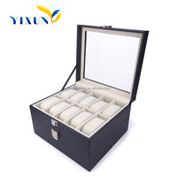 Shenzhen wholesale mufacturer fancy gift wrap box for watch/watch display box/box for watch cheap