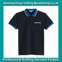 Super Low Price Different Color Collar and Cuff Polo Shirt / Color Combination Polo T Shirt Wholesale / Blank Polo Shirts Cheap