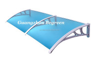 PC window canopy, door awning, rain cover, sun shed, entrance shade
