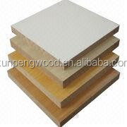 mdf cherry wood veneer panel, 1220*2440mm, 3-30mm