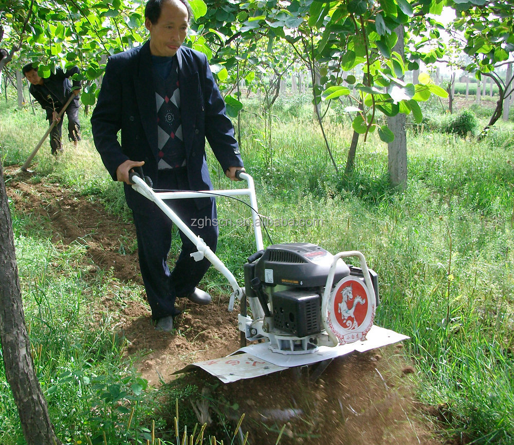 Tennma 7hp gasoline tilling agricultural equipment land for Gardening tools jakarta