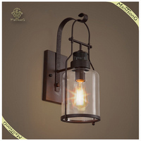Antique Style Decorative Wall Lighting Fixture, Indulstry Loft Wall Lamp
