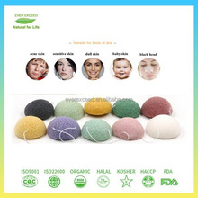 Bulk facial cleaning konjac sponge