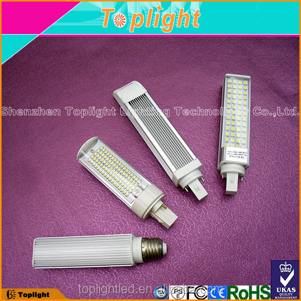 Rotating led PL Light G24/G23/E27