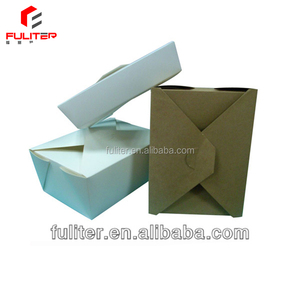 Paper food box noodle take out boxes design