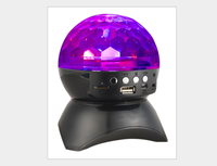 Best LED Flashing Crystal Light Ball Bluetooth Speaker