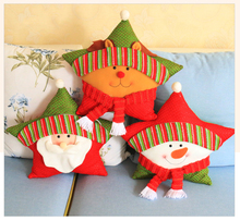 Christmas Crafts For Party Santa Pillow Christmas Ornament Pillow