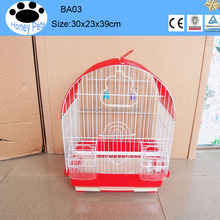 2016 high quality fine pet products accessories decorative bird cages