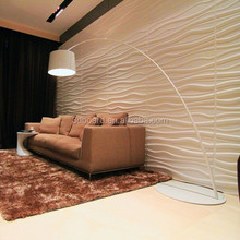wave design 3d brick effect decorative 3d wall panels for wall and ceiling decoration