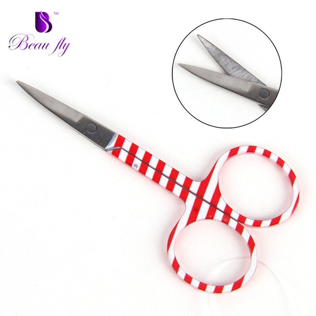 New Arrival Stainless Steel Custom Makeup Tools Eyelash Packing Eyelash Extension Scissors