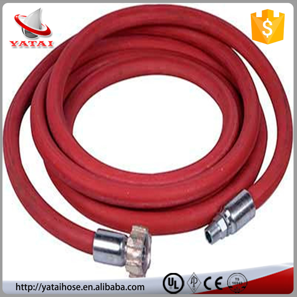 Abrasion and Weather Resistant Synthetic Rubber Colorful Fine Wire Braided Fuel Dispenser Hydraulic Hose