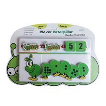 Kids Counting Ability Training Study Set Clever Caterpillar Fancy Educational Toy for Children Good Service with Quick Delivery