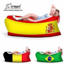Waterproof fast filling lazy beach sleeping lay bag air sofa bean airbag weight