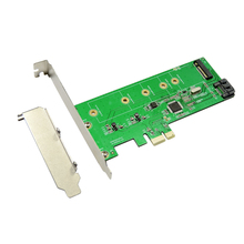 1SATA 6G(Hybrid HDD/SSD Hybrid HDD M.2 SATA SDD Controller+PCIe TO M.2(NGFF),Marvell 88se9130 chipset