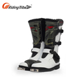black high quality protective Motorcycle racing Boots