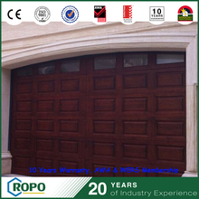 Durable low maintenance automatic roll up garage door