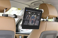High Quality 360 Degrees Rotation Universal Car Headrest Mount Holder for iPad 2 3 4 5 Air 2