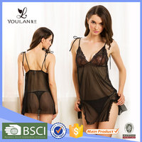 China Manufacturer Sexy Mature Women Photo Lingerie